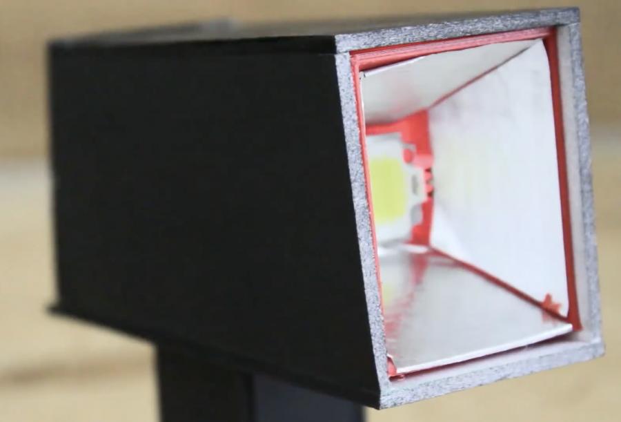 Arduino stroboskop - 10W LED