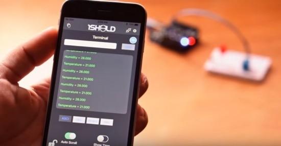 1Sheeld univerzální shield pro Arduino