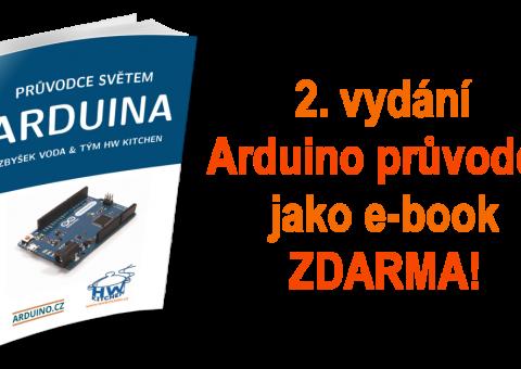 2. vydání Průvodce světem Arduina jako e-book ZDARMA!