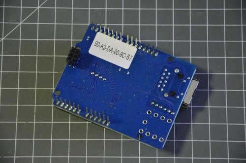 MAC adresa Arduino Ethernet shieldu