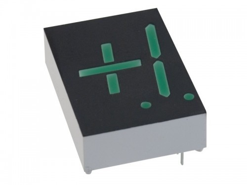 LCD displej - jednička