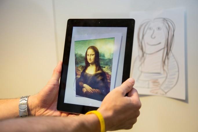 Kódování hravě - Mona Lisa