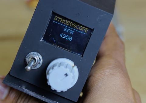 Arduino stroboskop - Nastavení frekvence
