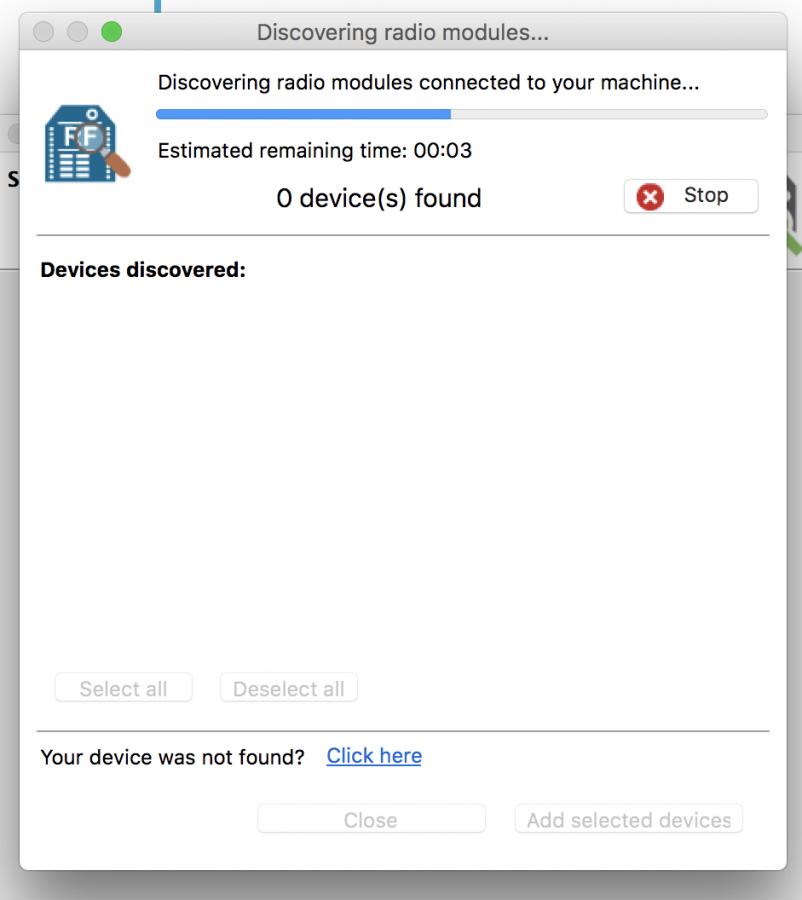 Vyhledávání modulu