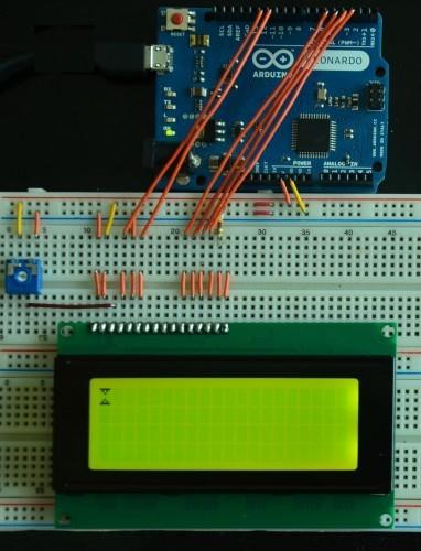 Zapojení grafického LCD a Arduina