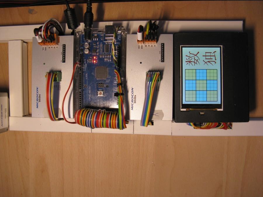 Arduino sudoku robot - Riadiaca jednotka