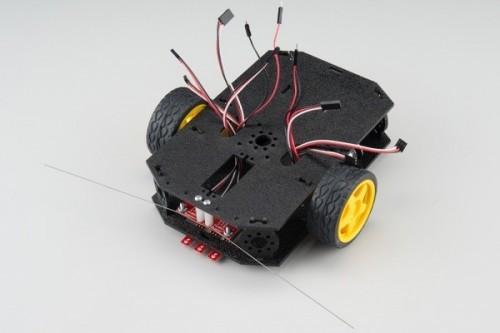 Spojení horní a dolní desky - RedBot