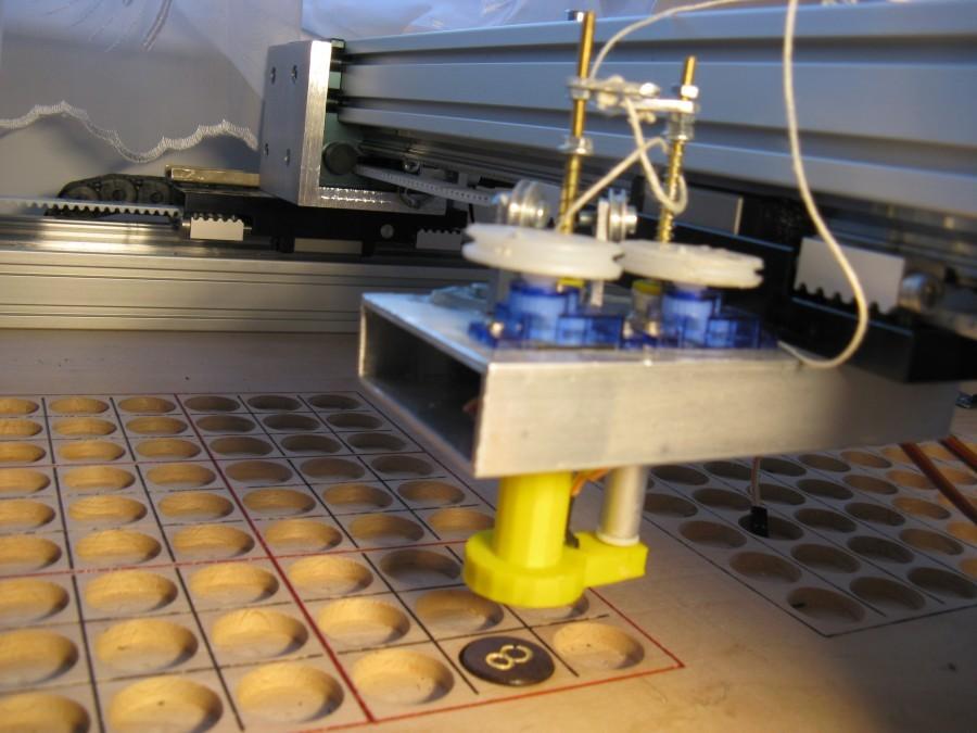 Arduino sudoku robot - Efektor