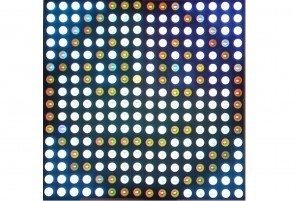 Smajlík na RGB displeji
