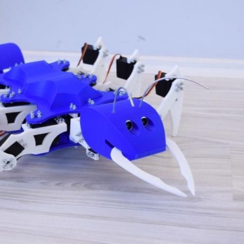 Arduino hexapod mravenec