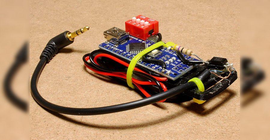 Arduino DSLR intervalometr