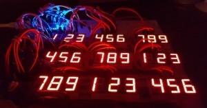 Arduino mega sudoku ze segmentových displejů