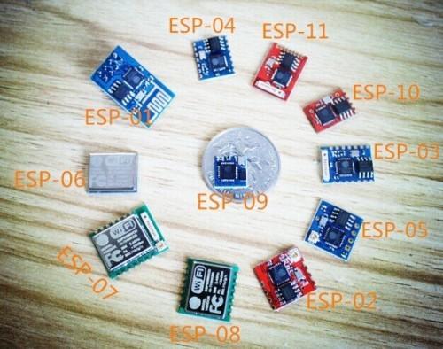 Rodina modulů ESP8266