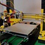 DIY 3D tiskárna z LEGA