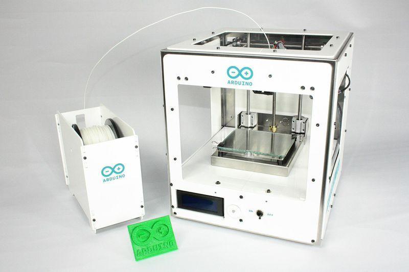 Fotografie 3D tiskárny Arduino Materia 101