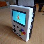 Přenosná herní konzole vytištěná na 3D tiskárně s Raspberry Pi