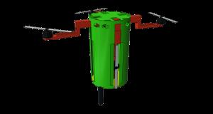 Kompletní model CanSatu