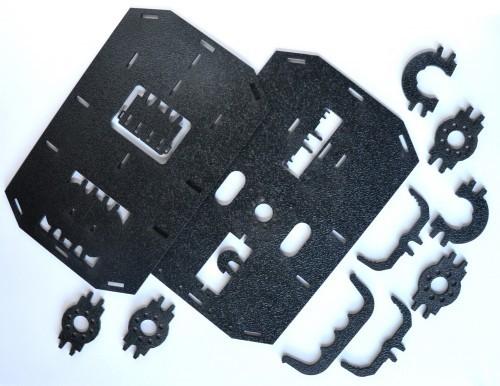 Mechanické části - RedBot