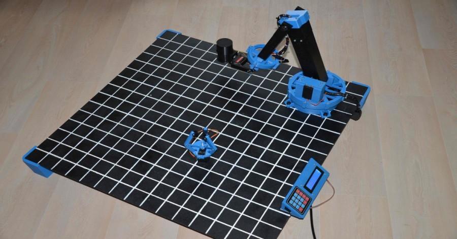 Arduino robotická ruka
