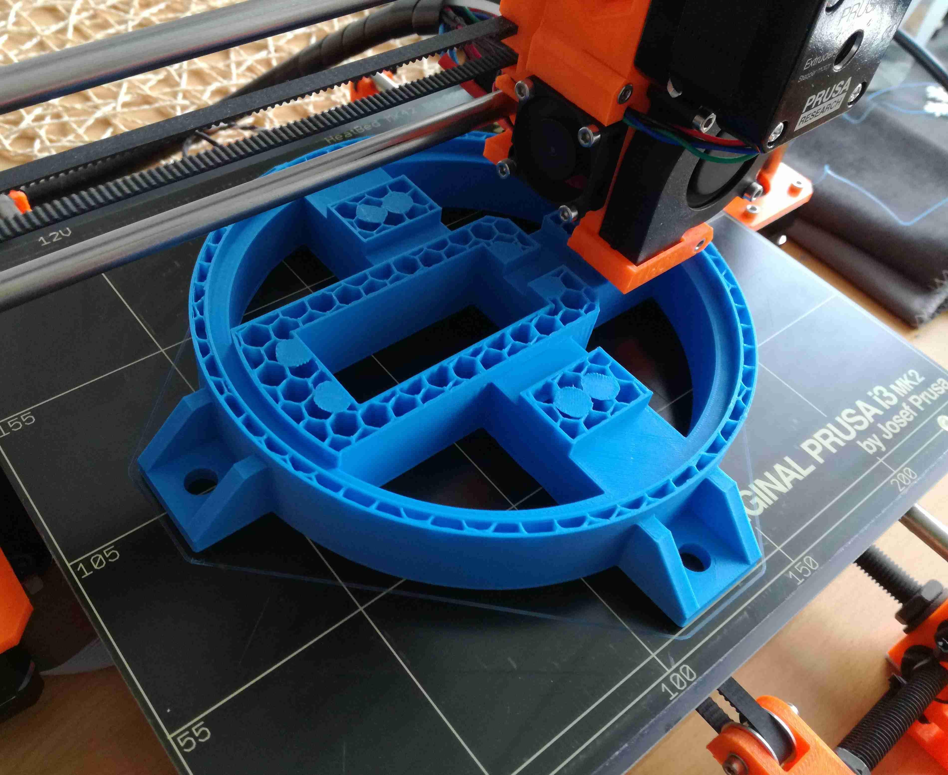 Robotická ruka - 3D tisk