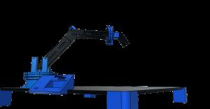 Robotická ruka - návrh pro 3D tisk
