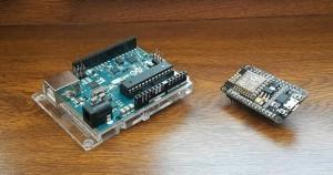 Arduino UNO WiFi a NodeMCU