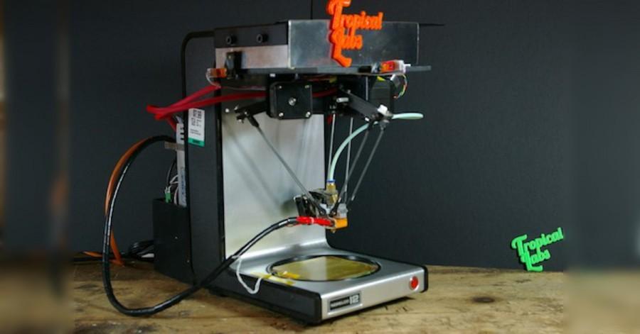 Arduino 3D tiskárna ze starého kávovaru