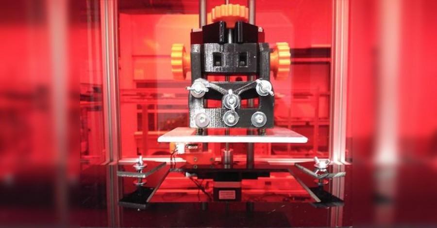 Arduino optická 3D tiskárna