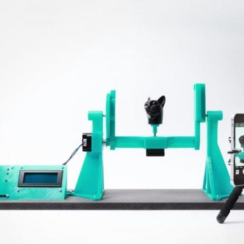 Arduino 3D skener