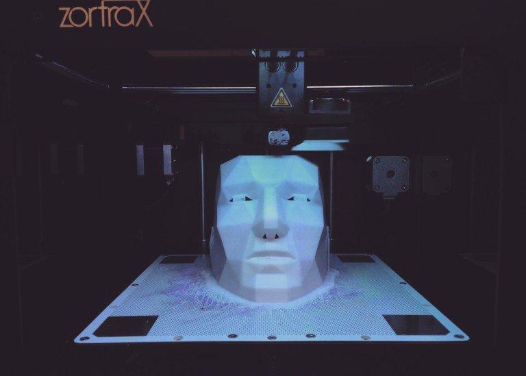 Arduino PrecogNation - tisk 3D masky