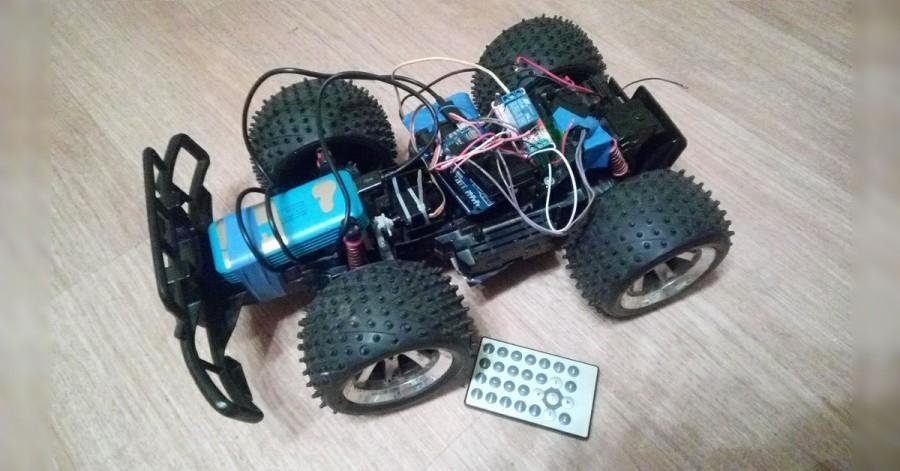 Arduino bluetooth vozítko