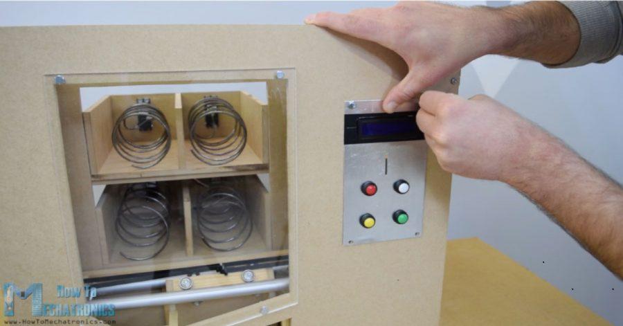 Arduino automat na sladkosti