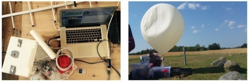 Meteorologický balon s Arduino Mega