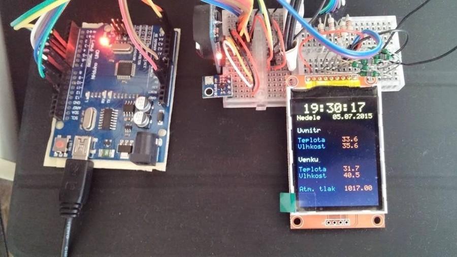 Arduino a barevný displej