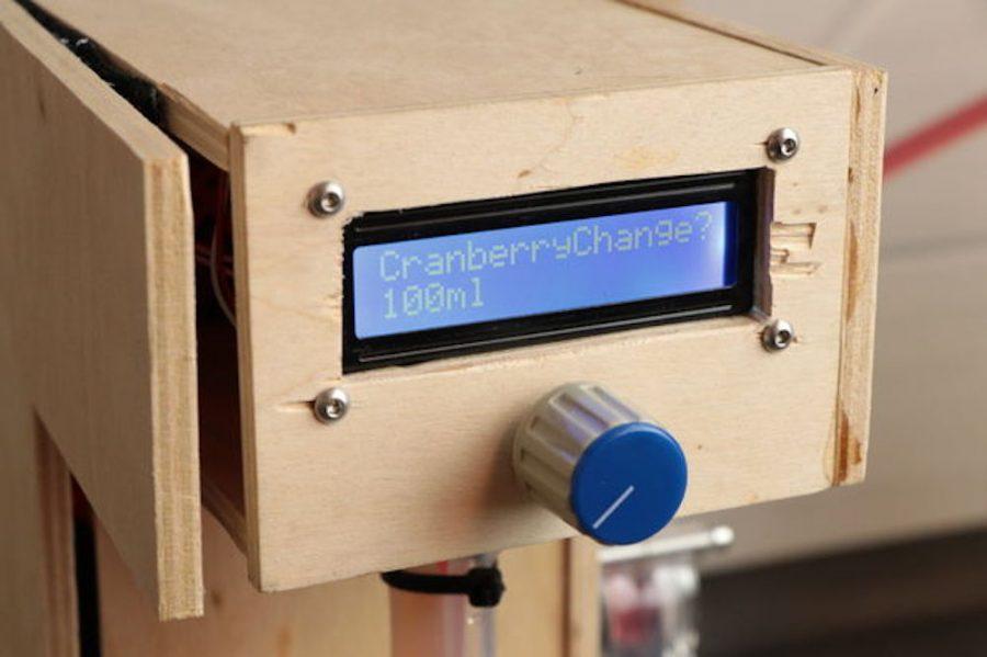 Arduino barman - Displej a ovládání