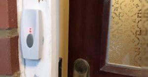 Arduino zvonek pro neslyšící