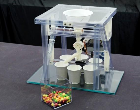 Arduino bonbony barvy