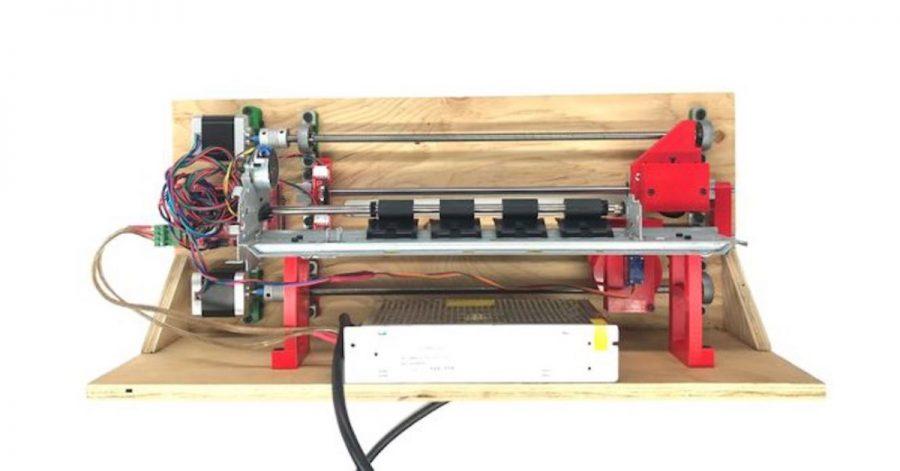 Arduino tiskárna Braillova písma
