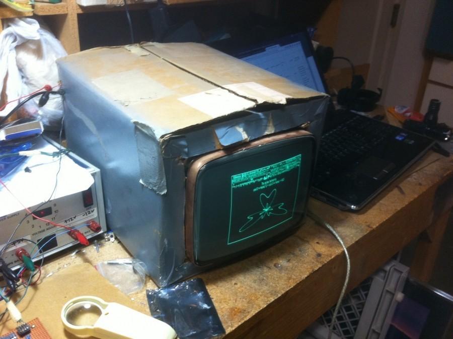 Arduino CRT monitor
