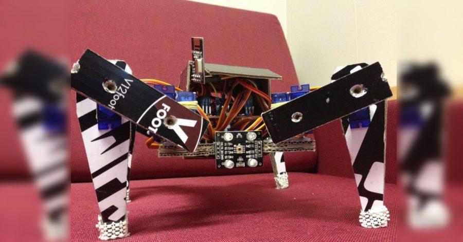 Arduino čtyřnohý robot