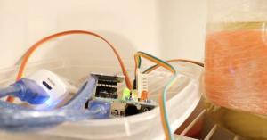 Arduino datalogger teploty a vlhkosti