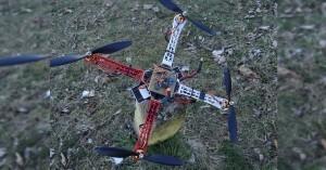 Podomácku vyrobený Arduino Dron