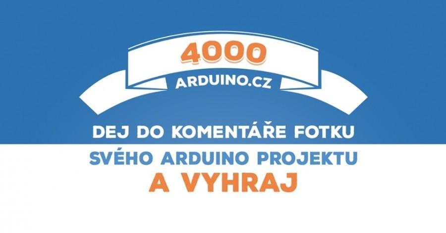 Facebook Arduino soutěž o zajímavé ceny