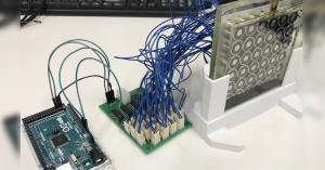 Arduino ferofluidní displej