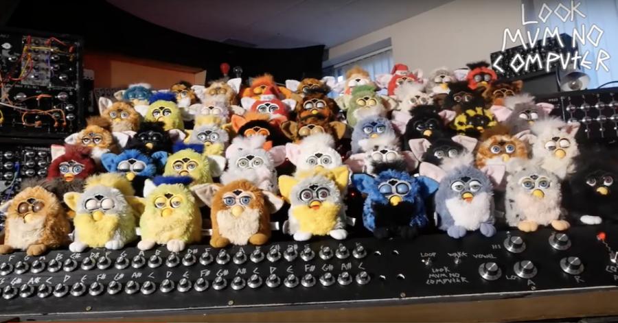 Arduino Furby varhany