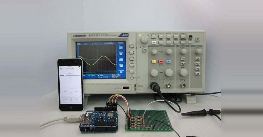 Arduino generátor funkcí