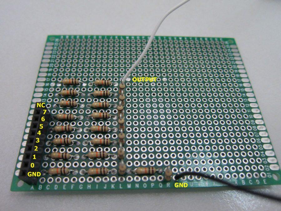 Arduino generátor funkcí - Zapojení