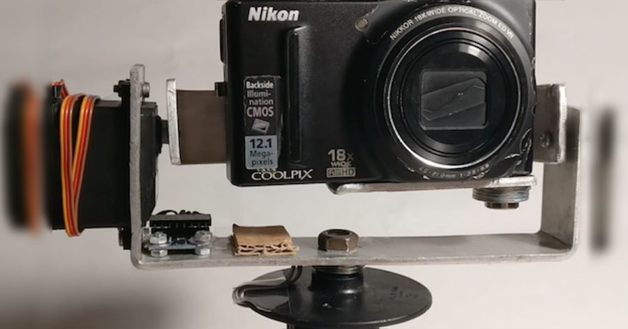 Arduino Gimball - stabilizace obrazu
