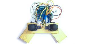 Arduino HID joystick gamepad na míru!