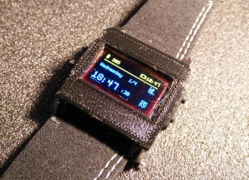 Arduino hodinky WatchDuino2